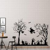 Miico FX3002 Etiqueta dos desenhos animados Adesivo de parede Adesivo de Halloween Adesivo de parede removível Decoração do quarto