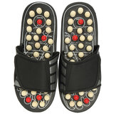 1 Pair Magnetic Massage Slippers Sandals Fitness Fatigue Relaxtion Foot Massage Acupuncture Shoes