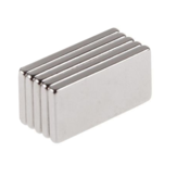 5pcs N50 20x10x2mm Block Neodymium Ímã Oblong Super Strong Raro Earth Ímãs