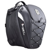 GHOST RACING Zaino per casco da motociclista da 10 pollici Zaino Borse posteriori Borse da ciclismo riflettenti Borse da sella di grande capacità