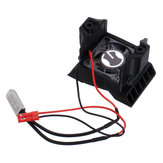 ESC hűtőventilátor hűtőventilátorral 1/10-es TRX4 RC autóalkatrészekhez