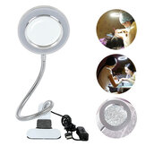 LED Tattoo Lamp Beauty Mirrors  Lamp Magnifying Glass Cold Light Clip Lamp