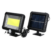 IPRee® COB 100LED 30W 600Lumen IP65 Solar Lamps Outdoor Park Yard Garden ضوء Camping ضوء Work ضوء