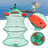 Nylon 3 Floats Floding Fishing Net Crab Fish Minnow Crawfish Shrimp Net