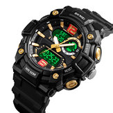 SKMEI 1529 5ATM Luminous 3 Time Multi-Function Men Watch