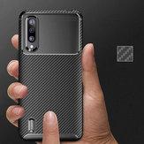 Bakeey Luxury Fibra de carbono à prova de choque Silicone Protetora Caso para Xiaomi Mi9 Mi 9 Lite / Xiaomi Mi CC9 Não original