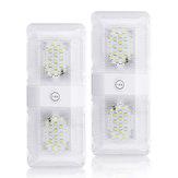 2 adet Audew 12 V 580LM LED Taşınabilir Kablosuz Dolap Gece Işık Dolap Altında Lamba
