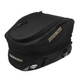 Waterproof Motorcycle Luggage Tail Bag Rear Seat Back Bags Helmet Pack  Black
