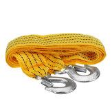 Kit di corda per rimorchio per carichi pesanti da 3 metri con cavo di traino per fune da traino da 3 tonnellate Kit Strumenti