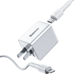 Baseus 18W PD Qucik USB-oplader + PD 18W C-Ldata-kabel voor MacBook Pro / Air iPhone / iPad Pro