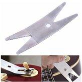 Chiave per strumento liutaio per basso in acciaio per chitarra strappo per serraggio di interruttori per vasi