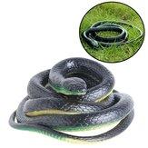 Scherzo Halloween realistico realistico del giocattolo di gomma realistico realistico del serpente realistico del serpente