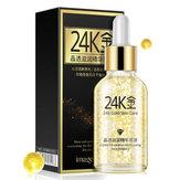 Creme líquido hidratante antienvelhecimento dos cuidados com a pele do soro das essências do colágeno do ouro 24K