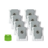 9pcs Replacements for iRobot Roomba i7 Vacuum Cleaner Parts Accessories 8*Dust Bags 1*Silicone Baffle