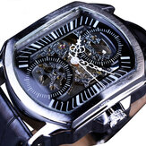 Forsining GMT911 Leather Strap Mechanical Watch