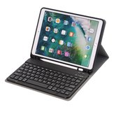 Bakeey 2 in 1 bluetooth Wireless Keyboard PU Leather with Pen Holder Flip Foldable Tablet Protective Case for iPad 2019 10.2 inch