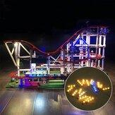 Zestaw oświetlenia LED dla majsterkowiczów TYLKO dla LEGO 10261 Roller Building Zasilany przez USB