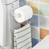 Toiletrolrolhouder Deur Terug Opknoping Handdoekrol Tissuerek Keukenkastje Papieropslag