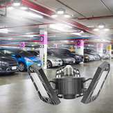 E27 B22 60W AC85-265V SMD2835 6000LM 144LED Deformable Garage Light Bulb Shop Lamp for Parking Lot