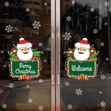 Miico XH7245 Christmas Sticker Home Decoration Sticker Window and Wall Sticker Shop Decorative Stickers