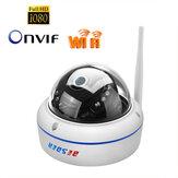 BESDER6003MW-HX201Wandaloodporny1080PHDKamera IP Hotspot WiFi AP ONVIF P2P Alarm wykrywania ruchu Dome Zabezpieczenia dla niemowląt