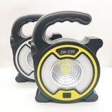 XANES® Multifunktionales Campinglicht Drahtloses Radio Bluetooth-Lautsprecher USB-Arbeitslicht Suchscheinwerfer Hängelicht