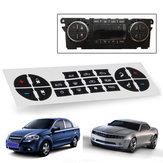 Kit di riparazione pulsante AC Sostituzione del cruscotto 07-13 GM Adesivi per decalcomanie per auto per veicoli US VENDITORE