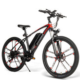 [EU Direct] SAMEBIKE MY-SM26 8Ah 350W 48V 26inch Electric Bike 30km/h Top Speed 80km Mileage Range Max Load 150kg