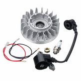 OEM 11224001217 Replacement Flywheel Coil NGK Plug for Stihl Electric Chainsaw 066 MS660