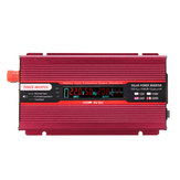 2000W DC 12V/24V to AC 110V/220V Solar Power Inverter Modified Sine Wave LCD Voltage Display