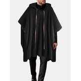 Mens New Fashion Casual Personality Cape Coats
