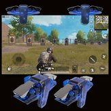 Bakeey X7 PUBG Mobile Game Controller Gamepad Trigger Aim Button Shooter Joystick com Flash Flim para iPhone iOS Android telefone móvel
