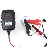 6V 12V 1A Motocicleta Car AGM Pulse Repair Bateria Carregador SAE 4AH-60AH