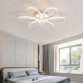 Aluminum LED Ceiling Light Chandelier Pendant Lamp Bedroom Dimmable Home Fixture