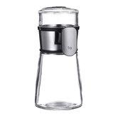 Condimento Tarro Botellas Dispensador de sal Contenedor de especias de vidrio Accesorios de cocina