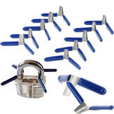 10Pcs Padlock Shim Picks Set serratura Pick serratura Pick Opener Accessori Strumento Facile