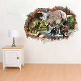 Chambre Dinosaures Enfants Chambre Décor Wall Sticker Wall Decal Wall Decal 3D Art Autocollants Vinyle Chambre