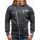 Herrenmode Zipper Hoodies Lässige Sweatshirts