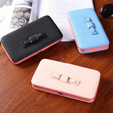 Multifunctional Phone Wallet Phone Bag Card Holder for 4.7-5.5 Inch Smart Phone for iPhone X Xiaomi