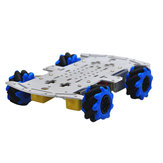 D-42 DIY Smart RC Robot Car Chassis Base With 48mm Omni Wheels TT Motor