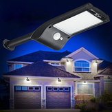 36 LED Solar Wall Street Light PIR Movimiento Sensor Impermeable al aire libre Jardín Lámpara