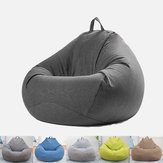 Très grand sac de haricots chaise Lazy Sofa Cover BeanBag de siège de jeu extérieur intérieur