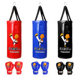 Boxsack Kinder Sandsack Handschuhe Set Home Sports Junior Trainning Punching