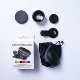 Bakeey 2 in 1 37mm 0.45X UV Super wide angle + Macro Phone lens for ipad Mobile Phone Tablet
