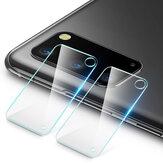 Bakeey 2PCS Anti-rayures HD Protecteur de lentille de caméra de téléphone en verre trempé transparent pour Samsung Galaxy S20 2020