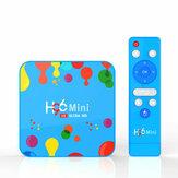 US H96 Mini Allwinner H6 4GB RAM 128GB ROM 5G WIFI Bluetooth 4.0 Android 9.0 4K 6K TV Коробка + T1 2.4G Беспроводной 6-осевой гироскоп Голосовой Дистанционное Управление