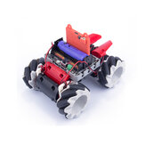 Kittenbot Microbit DIY 4WD Programmble APP / Stick Controlオムニホイール付きスマートRCロボットカー