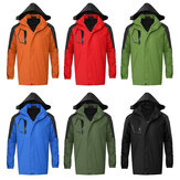 M-XXL Waterproof Windproof Coat Snow Winter Warm Jacket Hooded Outwear Outdoor Clothes For Hiking Fishing