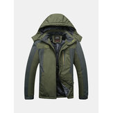 Outdoor waterdicht winddicht fleece warm groot formaat jack