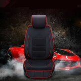 Auto Car 5 Seats PU Leather Seat Cover Mat Pad Cushion Front & Rear Pillow Set